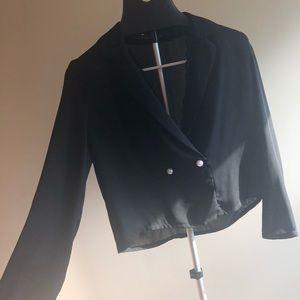 Zara dressy blouse